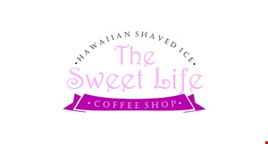 Product image for The Sweet Life FREE espresso shot Tues- Fri 7am - 11am with the purchase of any cafe drink.
