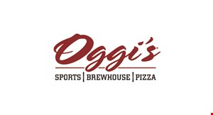 Product image for Oggi's Sports | Brewhouse | Pizza $10 Off any purchase of $50 or more dine in only.