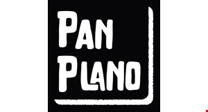 Product image for Pan Plano $12.50 any flatbread, 1/2 salad & drink