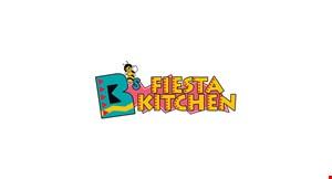 B's Fiesta Kitchen logo