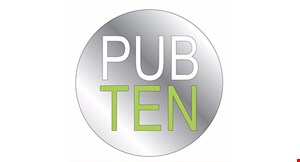 Product image for Pub Ten Craft Kitchen & Bar $10 off any purchase of $30 or more
