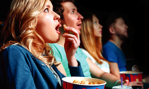 Product image for Paradigm Cinemas 1 FREE Small Popcorn and Small Drink