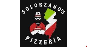 Product image for Solorzano's Pizzeria 20% OFF Italian market retail purchase.