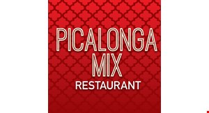 Product image for Picalonga Mix Restaurant $5off any purchase