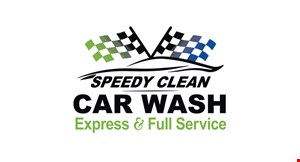 Product image for Speedy Clean Car Wash $3 OFF the Xtreme wash