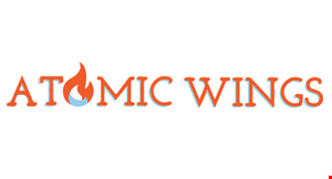Product image for Atomic Wings $2 Off any purchase of $10 or more