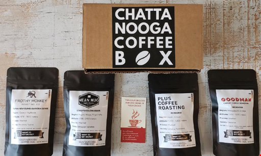 Product image for Chattanooga Coffee Crawl 20% OFF yearly subscription