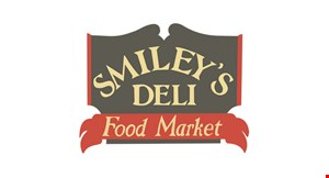 Product image for Smiley's Deli & Food Market Free sandwich buy 1 sandwich, get 1 of equal or lesser value free.