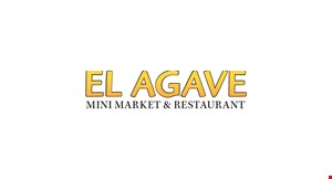 Product image for El Agave Mexican Restaurant $3 OFF any purchase of $15 or more.