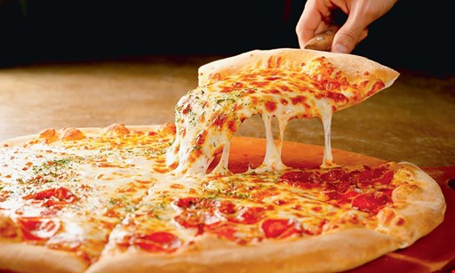 "Product image for Taylor Street Pizza $10.99 16"" large thin crust cheese pizza (topping extra)."