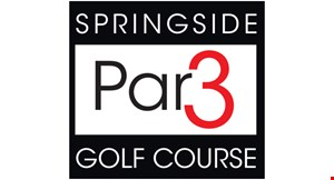 Product image for Springside Par 3 Golf Course $2 off one roundof golf