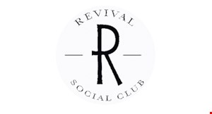 Product image for Revival Social Club 50% off any entree
