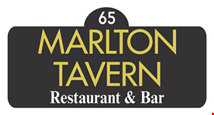 Marlton Tavern Restaurant & Bar logo