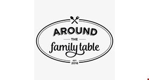 Product image for Around The Family Table $5 Off any family entree