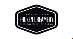 Product image for Frozen Creamery Gilbert BUY 1 SINGLE ICE CREAM CONE & RECEIVE 1 FREE SINGLE ICE CREAM CONE.
