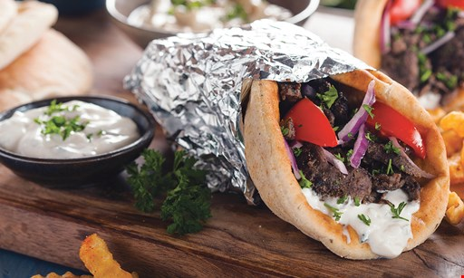 Product image for The Grill At Souq Buy 1 gyro, get 1 gyro of equal or lesser value FREE