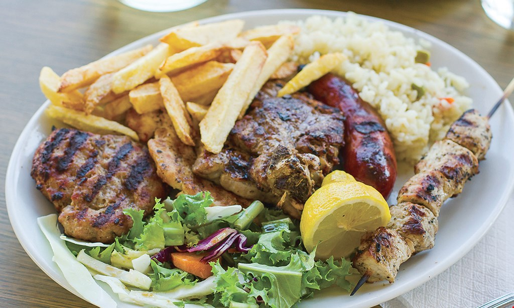 Product image for The Great Greek Mediterranean Grill Hamlin 40% off online ordering
