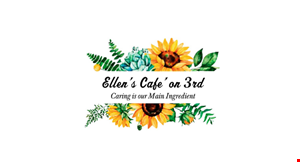 Product image for Ellen'S Cafe On 3Rd FREE cookie