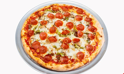 Product image for Augies Numero Uno only $21.99 for 2 large cheese pizzas & a 2 liter soda
