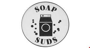 Product image for Soap  & Suds Free 5 lbs. of drop-off service laundry