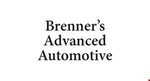 Product image for Brenner's Advanced Automotive $39.95 get acquainted special