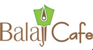 Product image for Balaji Cafe 25% off entire check