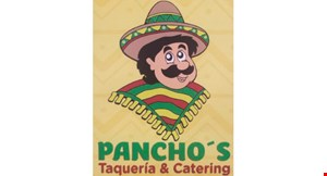 Product image for Pancho's Taqueria & Catering 99¢ taco wednesdays.