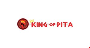 Product image for King Of Pita Family Meal Combo - all for only $38.99