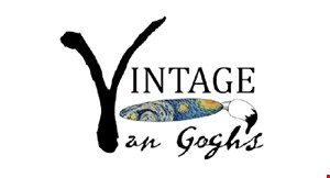 """Product image for Vintage Van Gogh'S Paint Party Classes on Skype! $15 off for two with supplies included. Promo code """"VanGoghs15"""" upon checkout."""
