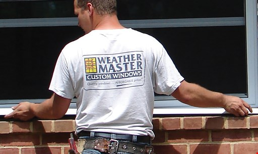 Product image for Weather Master Get A $25 - $150 Amazon Gift Card Present this coupon and get an Amazon Gift Card valued at $5 times the number of ENERGY STAR windows we install.