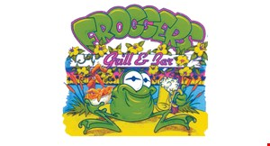 Product image for Frogger's Grill & Bar - Mt. Dora 20% off any takeout order