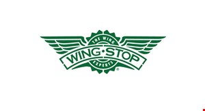 Product image for Wing Stop Open For Pickup & Delivery: 10% off pickup order of $20 or more when you order online at wingstop.com.Use code 10OFF20