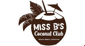 Miss B's Coconut Club logo