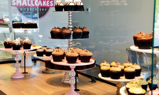 Product image for Smallcakes - Buffalo Grove FREE cupcake. Buy 3 cupcakes, get 1 of equal or lesser value free.