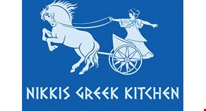 Product image for Nikki'S Greek Kitchen $10 off Any food order of $30 or more