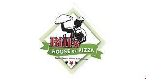 Bills House Of Pizza logo