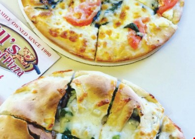 Product image for Bills House Of Pizza Special 4 - Lg 1-Topping Pizza, Chicken Fingers& 1 Greek Salad $24.95+tax