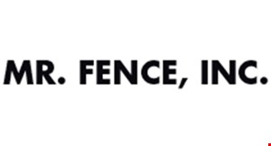 Mr. Fence logo