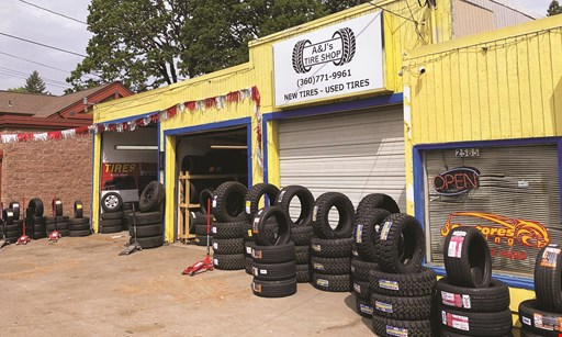 Product image for A & J's Tires 10% Off all new & used tires.