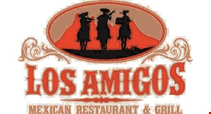 Product image for Los Amigos Mexican Restaurant & Grill $3 off any purchase of $20 or more