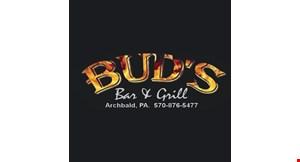 Bud's Bar & Grill logo