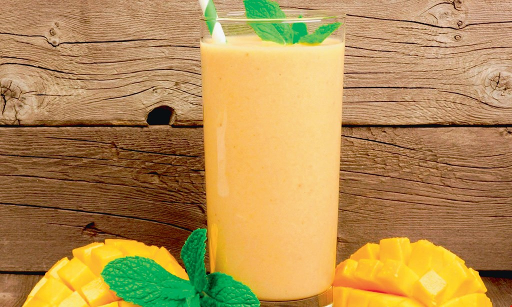 Product image for Paradise World Foods & Smoothies 15% Off combo meal includes 1 smoothie & 1 sandwich of choice