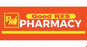 Product image for Good RXS Pharmacy Transfer Your Prescriptions Today & Get $25 in-store credit.