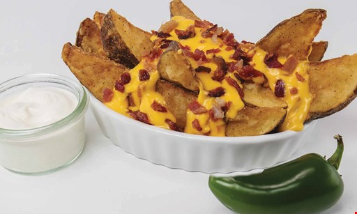 Product image for Lee's Famous Recipe Chicken Upgrade any individual side to loaded potato wedges for $1