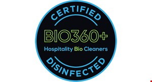 Product image for Hospitality Bio Cleaners $399 4-step disinfection service