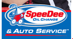 Product image for Speedee Oil Change & Auto Service 17-Point Oil Change $15 Off Full Syntheticor $10 Off Conventional, Blend or High Mileage