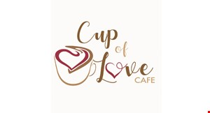 Product image for Cup of Love Cafe 10% Off any beer or wine