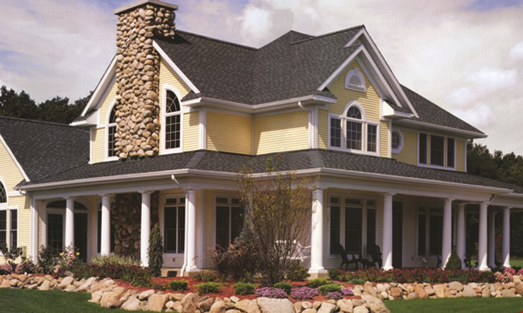 Product image for Grand View Exteriors FREE GUTTERS & DOWNSPOUTS with any Roof Replacement of 20sq. or more ($2500 VALUE!).