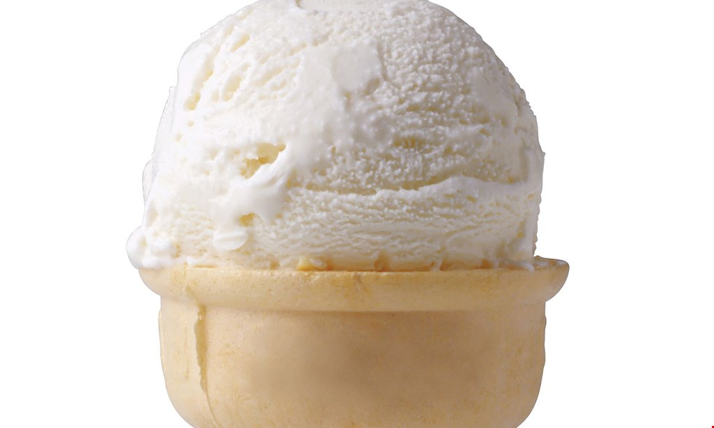 Product image for Big Cow Creamery $1 OFF banana split, sundae, shake or malt.