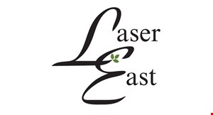 Laser East logo